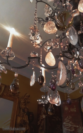 coco chanel apartment chandelier