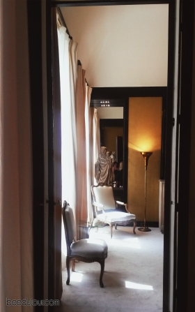 coco chanel apartment hallway