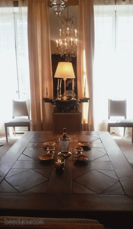 coco chanel apartment rue cambon dining