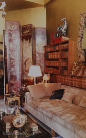 coco chanel apartment sofa