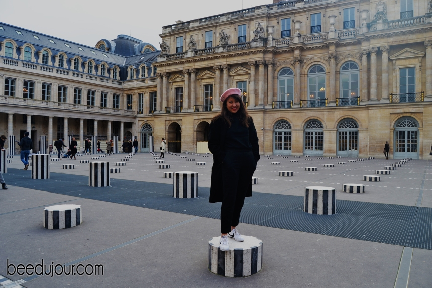 winter in paris palais royal 2