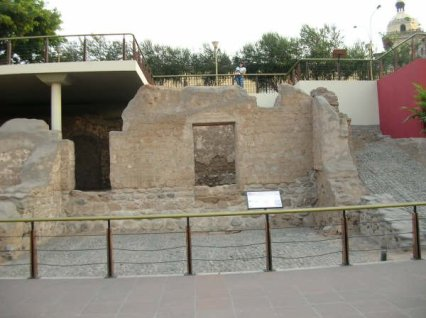 The oldest known house in the wold in Lima