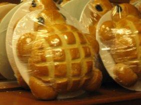 Tortoise bread at Vivanda