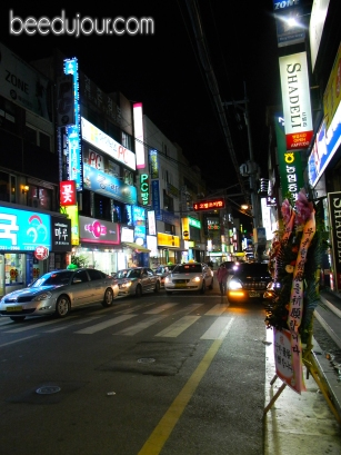 Busan street night