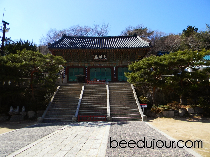 Busan temple gate