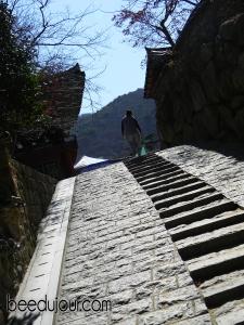 Busan temple stairway