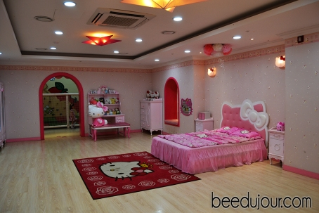 hello kitty bedroom jeju