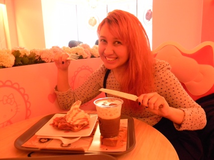 hello kitty cafe eats