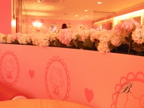 Hello Kitty cafe interior 2