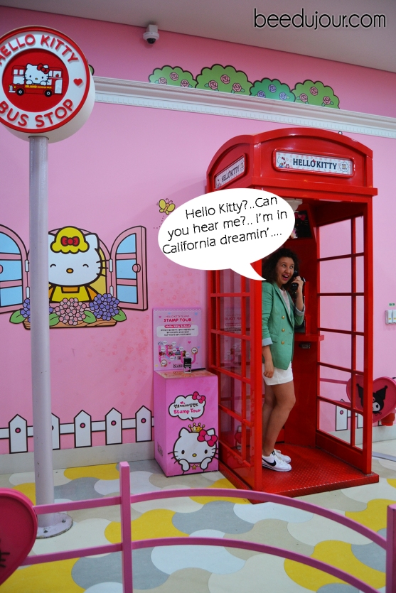 hello kitty jeju booth