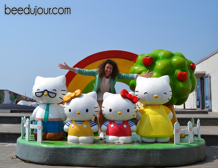 hello kitty jeju family