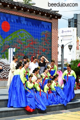 koran hanbok seoul dance