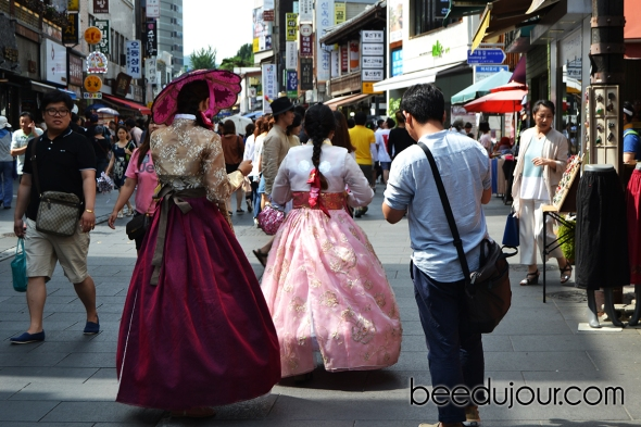 korean hanbok insadong