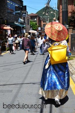 KOREAN hanbok seoul street