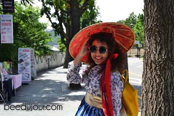 korean hanbok seoul streets