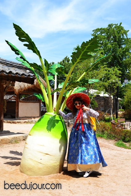 korean hanbok vegetable