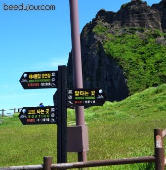 Seoongsan Ilchulbong hike