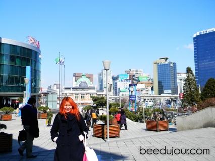 Seoul station ktx