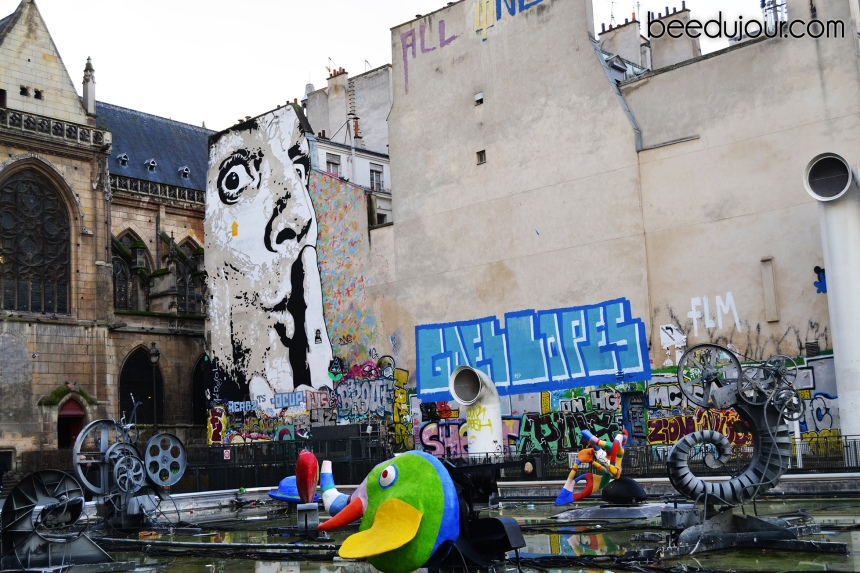 winter in paris centre pompidou 3