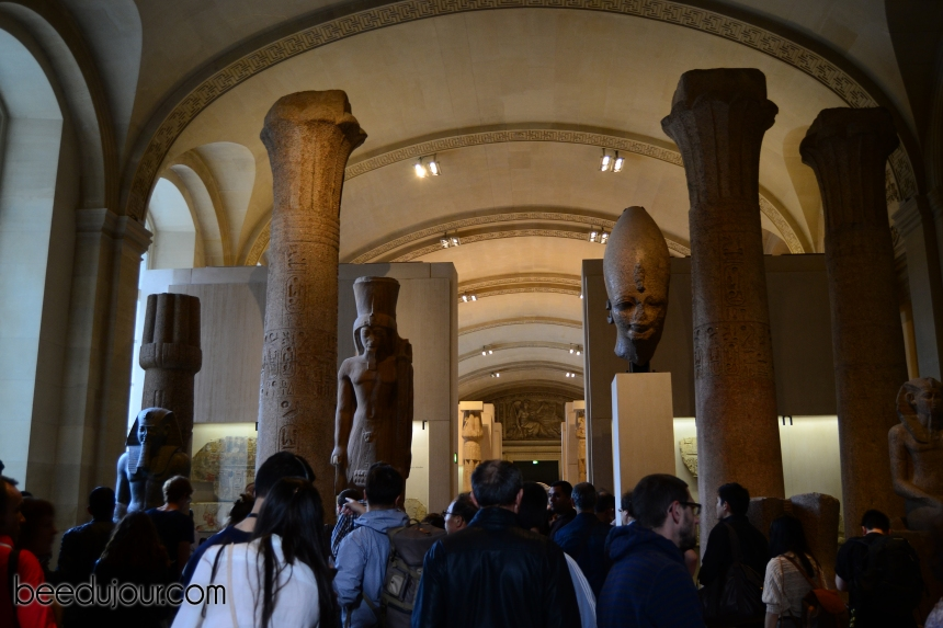 loiuvre museum egyptian antiquities rooms