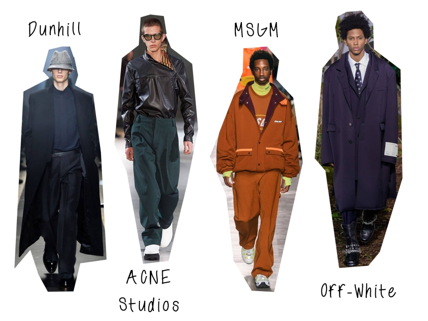 mens aw19 oversized trend