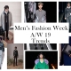 Men's Fashion Week Trends from AW19