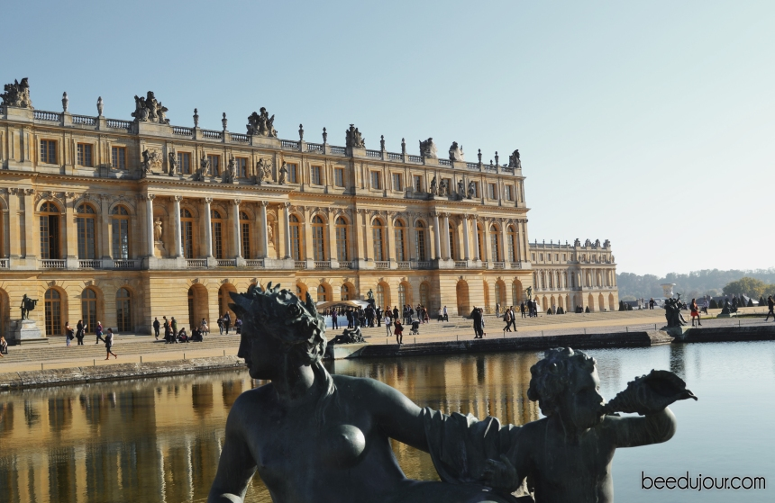 palace of versaille back view