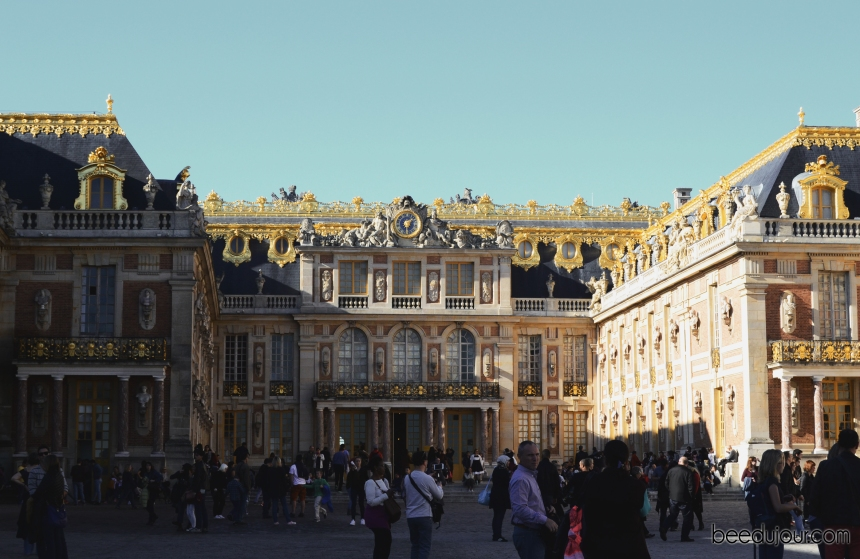 palace of versailles front