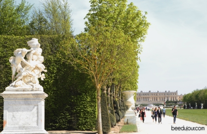 palace of versailles summer