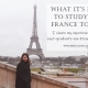 What it was like studying in Paris, France