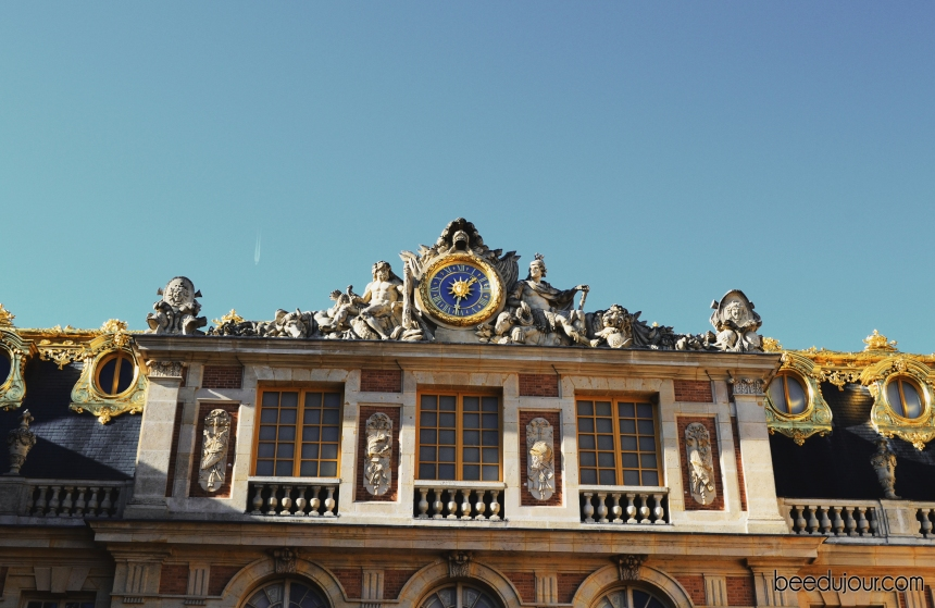 versailles gold roof