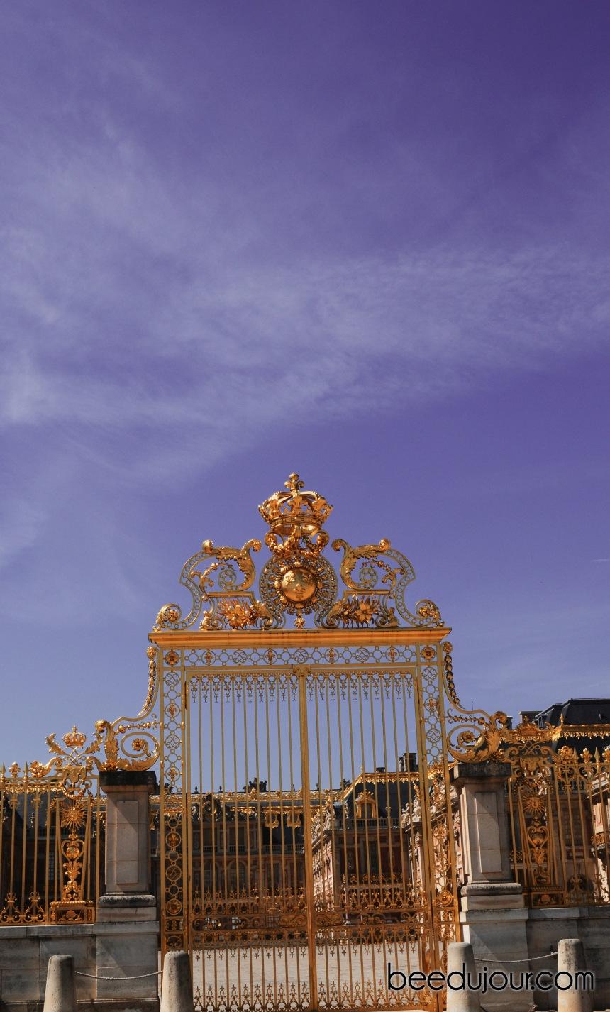 versailles golden gates