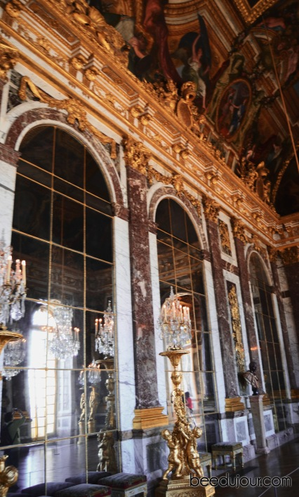 versailles hall of mirrors detail