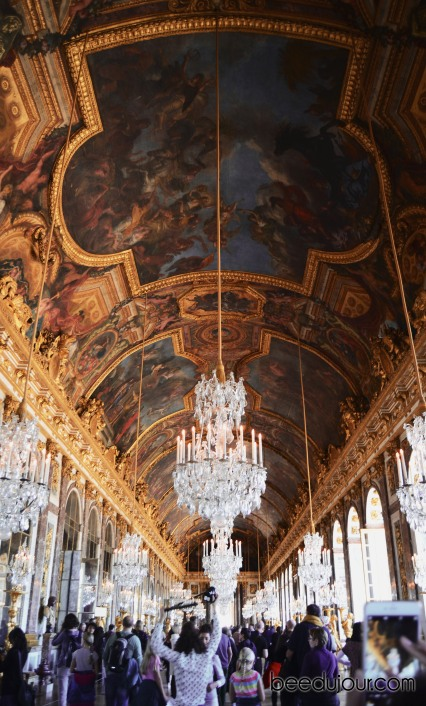 versailles hall of mirrors roof