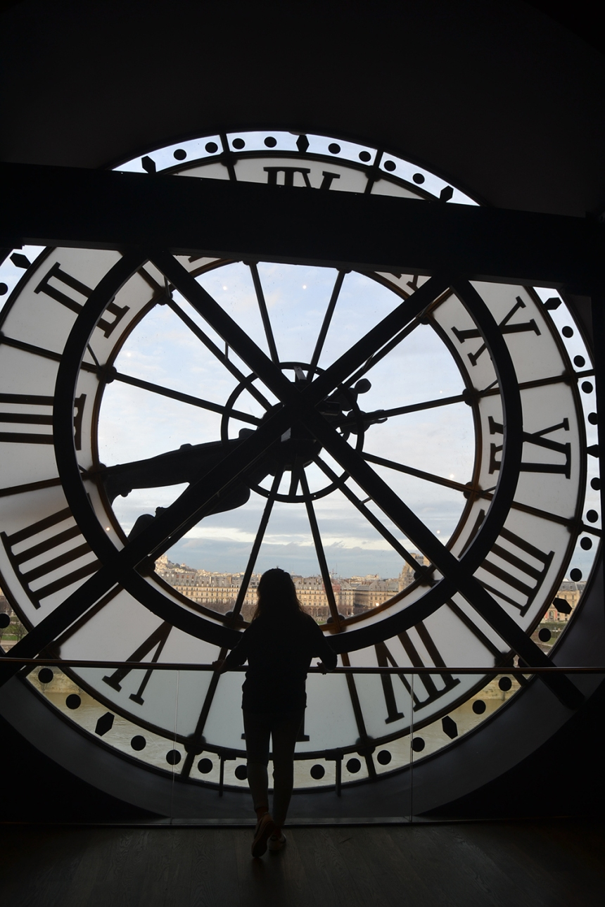 winter in paris musee dorsay clock