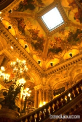 winter in paris opera roof