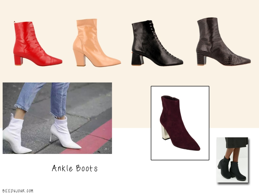 ankle boots sa aw19 trends