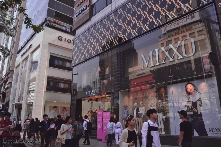 gangnam seoul shopping streets