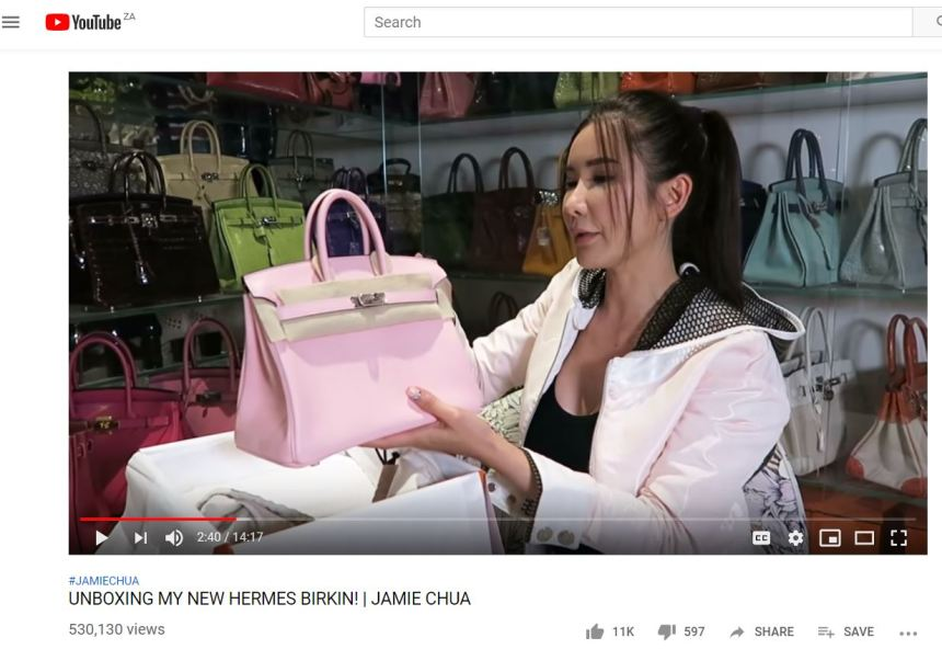 jamie chua youtube