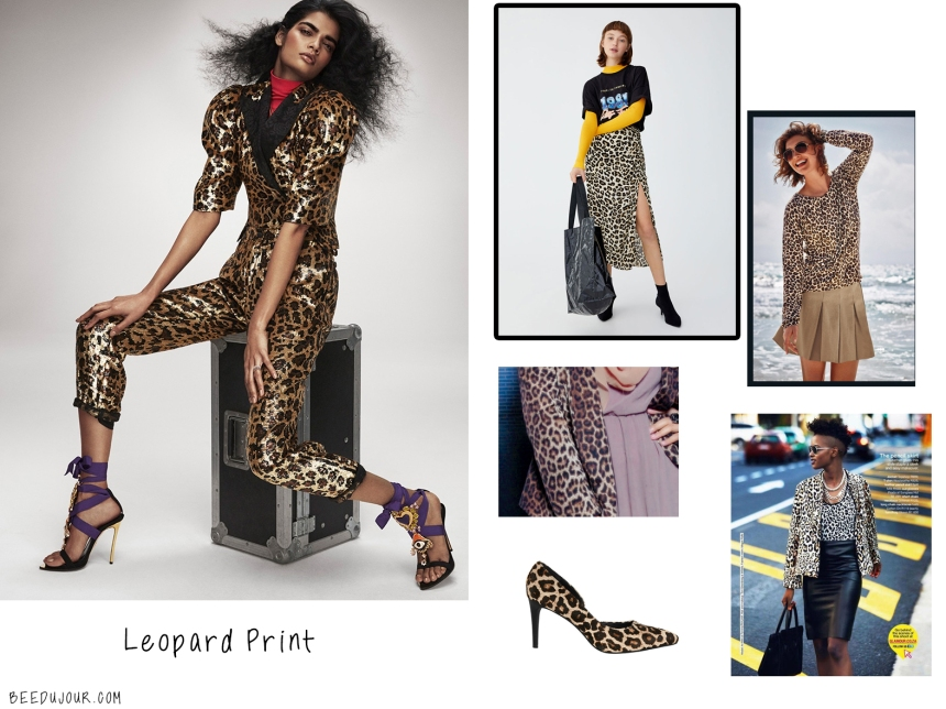 LEOPARd PRINT SA aw19 trends