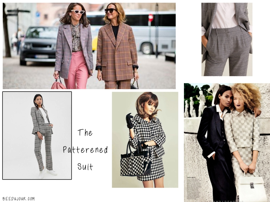 patterned suit sa aw19 trends