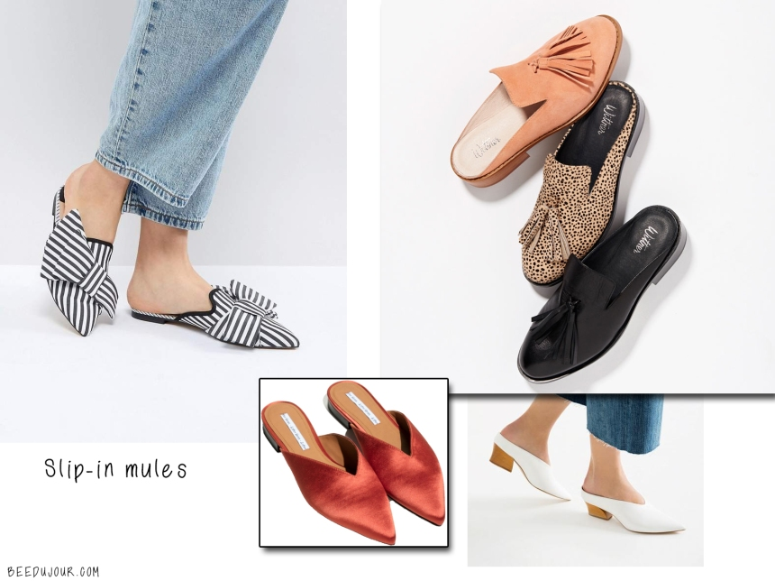 slip in mules sa aw19 trends