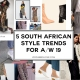 South African Style Trends for A/W19