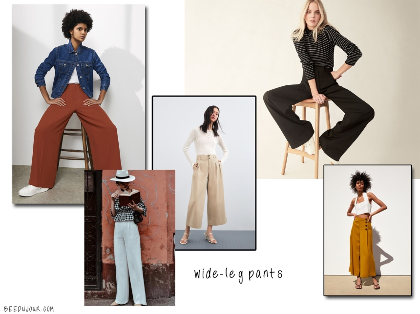 wide leg pants sa aw19 trends