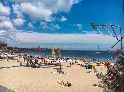 caiscais beach