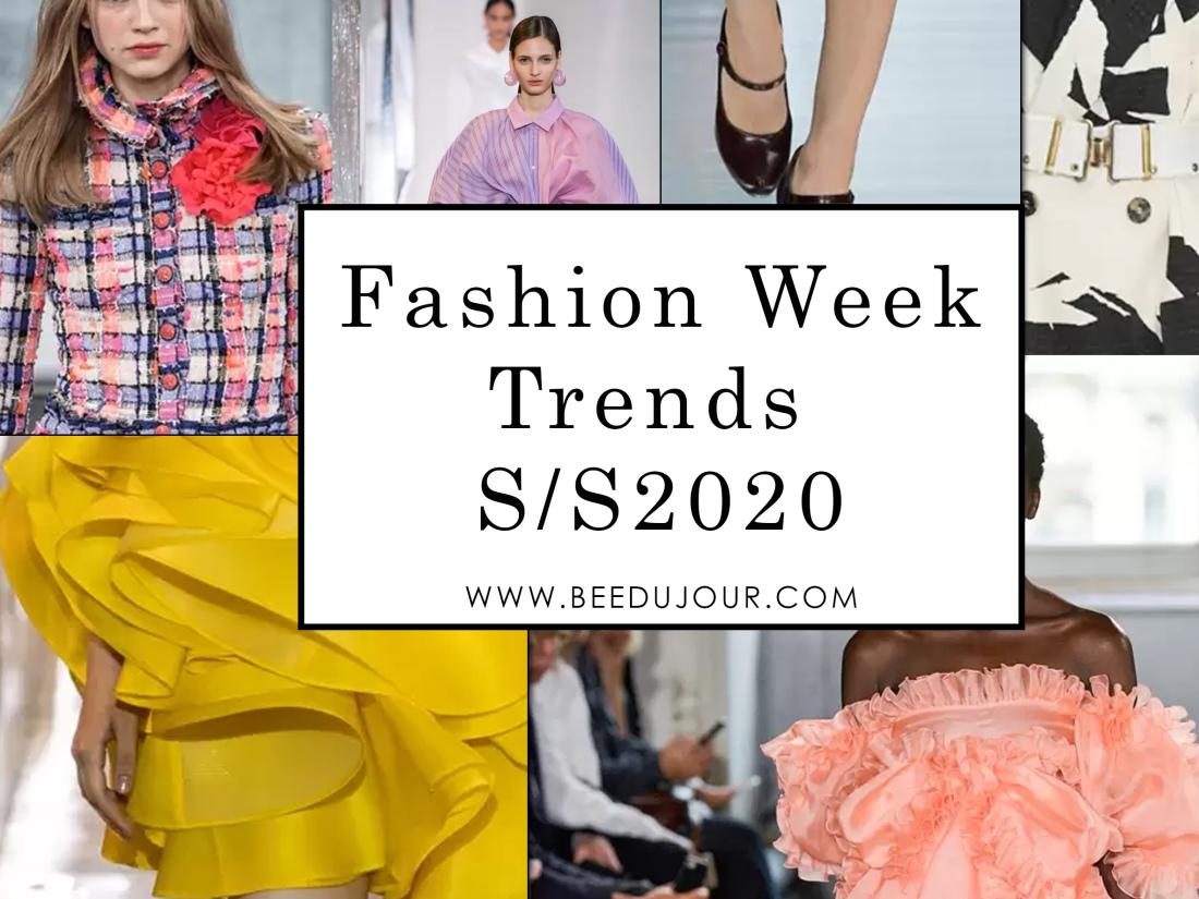 Korean Fashion Trends 2020.Fashion Week Summer Spring Trends 2020 Bee Du Jour