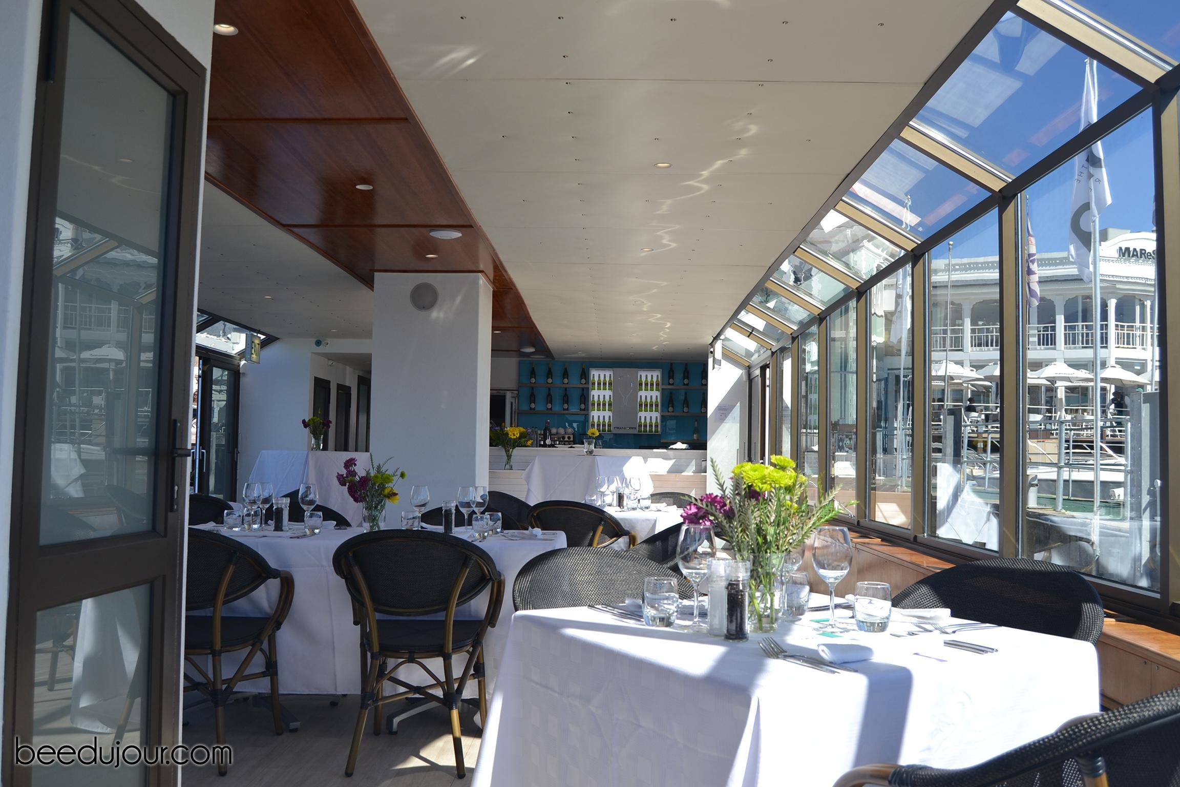 the alba boat interior