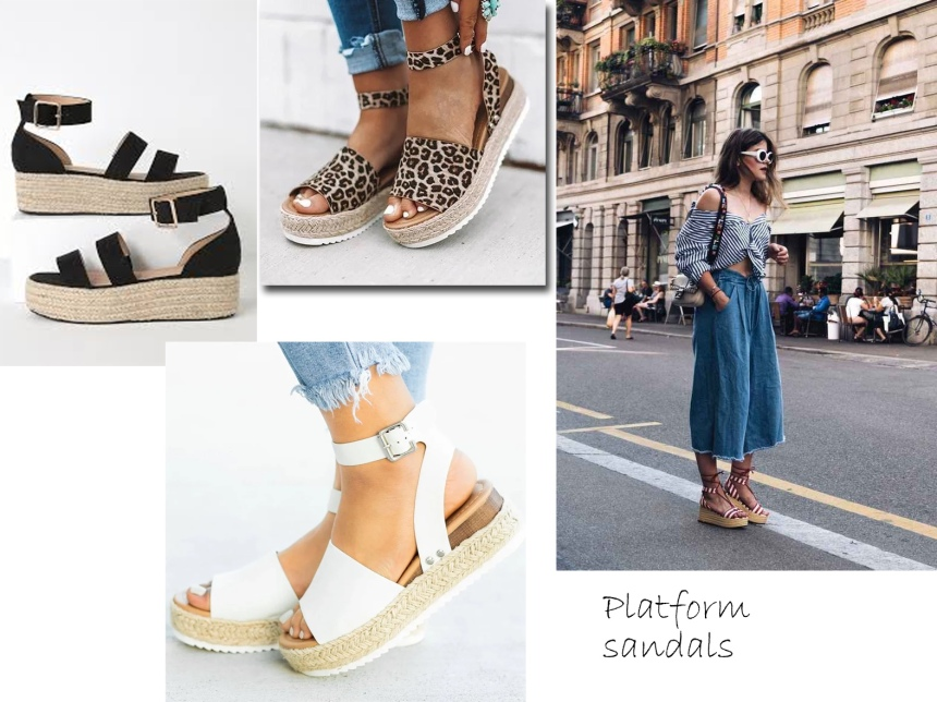sa trends platfrom sandals