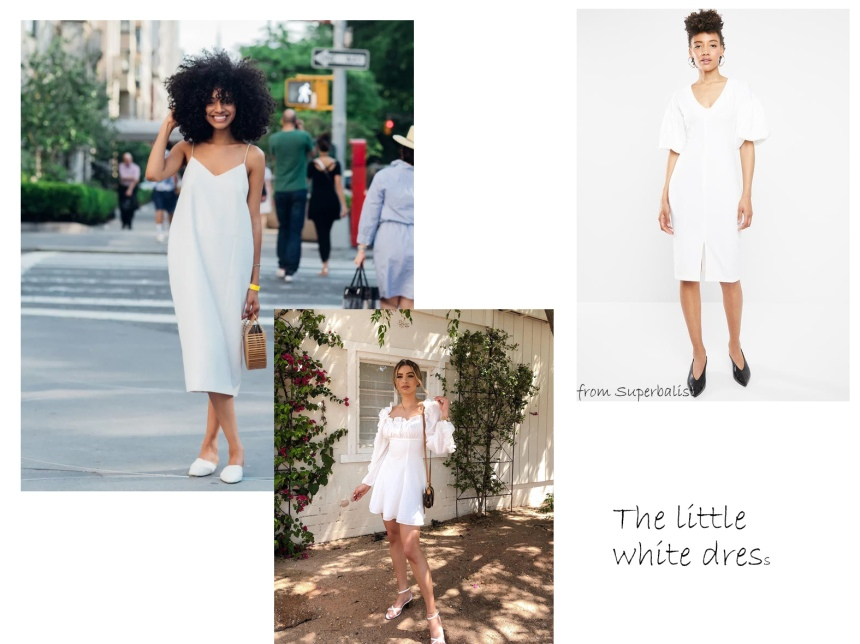 sa trends white dress