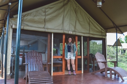 honeyguide tented safar camp khoka moya deck